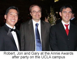 Jonathan Gay, Robert Tatsumi and Gary Grossman