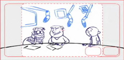 The Ricky Gervais Show Storyboard