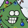 Bollinger Decorates Animated Tree For Christmas