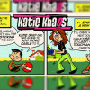 Katie Khaos Comic Crafted in Flash